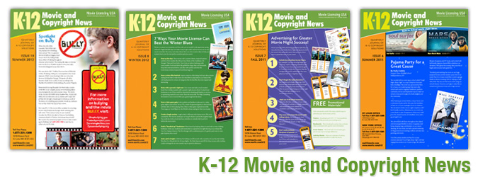 K-12 Movie and Copyright News